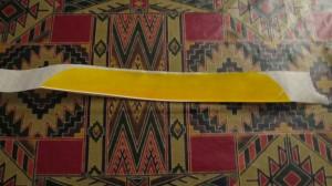 Goosefeather on tape