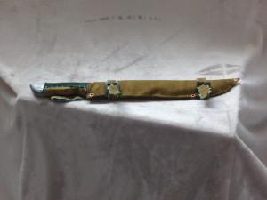 Larp knife in sheath