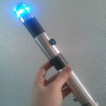 An Ultrasaber, with added leather wrap