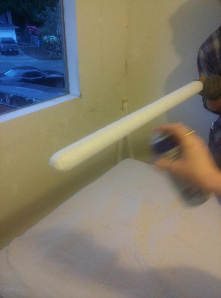 Step 11, applying plastidip