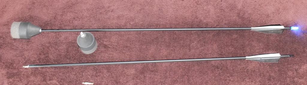LED Larp Arrows